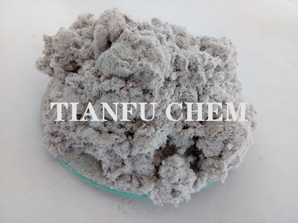 Drilling high dehydration solidification plugging agent TF QLM
